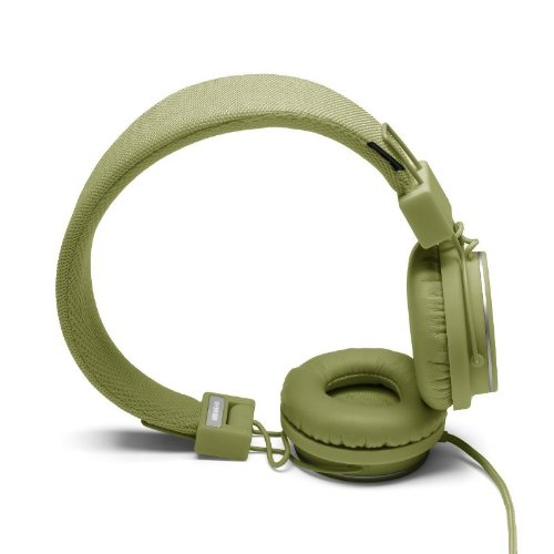 Urbanears 04090706 Plattan Over Ear Headphones With Microphone - Olive