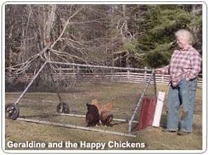 Happy Chicken Chicken Tractor