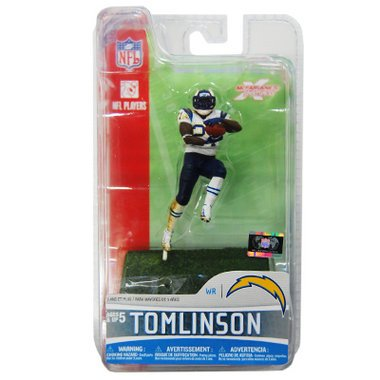 McFarlane Toys NFL 3 Inch Sports Picks Series 5 Mini Action Figure LaDainian Tomlinson 2 (San Diego Chargers)