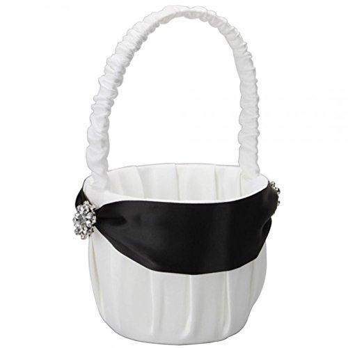 winever-nuova-favore-elegant-black-stripe-da-sposa-in-raso-flower-girl-basket