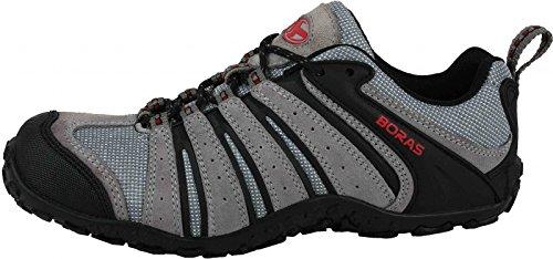 Boras  3172 YUMA,  Scarpe da camminata ed escursionismo uomo Grigio gris clair/noir 48