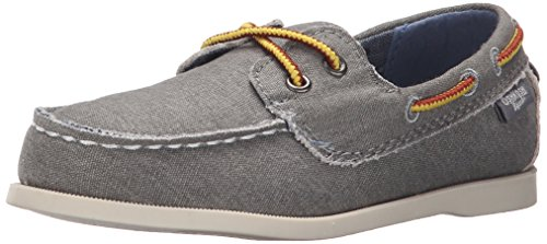OshKosh B'Gosh Alex7-B Boat Shoe (Toddler/Little Kid), Grey, 12 M US Little Kid