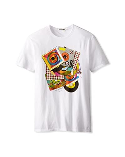 Ben Sherman Men's Records Print T-Shirt