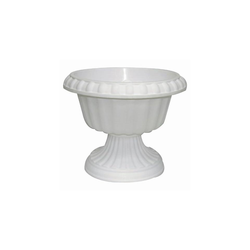 Garden Odyssey Plyfp170 12 Grecian Urn Planter White 12 Inch