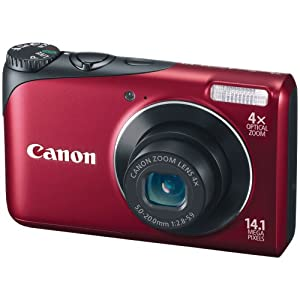 Canon Powershot A2200 14.1 MP Digital Camera with 4x Optical Zoom ($79)