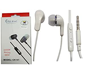 Shopkeeda Stereo Sound Handsfree Earphone For Motorola Moto E 4G (2nd Gen)