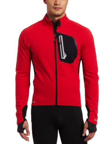 Pearl Izumi Men's Pro Softshell 180 Jacket - True Red/black, Large
