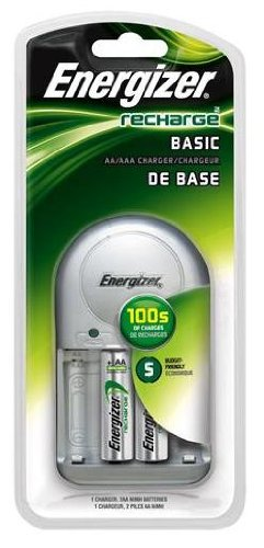 Energizer Chvcwb2 Overnight Nimh Aa/Aaa Charger With 2 2000Mah Aa Batteries front-745152
