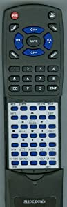 SANYO Replacement Remote Control for DP50749, DP42849, DP46849, DP52449, GXDB