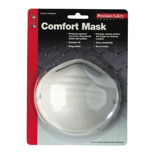 Magid Glove PR100 Disposable Comfort Dust and Pollen Mask, Pack of 5
