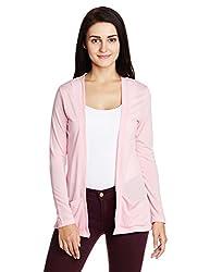 People Women's Blouson Jacket (P20401116075828_Pink_Small)