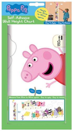 Peppa Pig 粉红猪小妹量身高墙纸