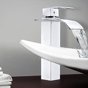 Msc4037h rubinetto miscelatore moderno alto per bagno nuovo design minimal ricambio economico - Miscelatore bagno moderno ...