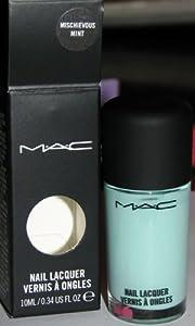 BNIB MAC Quite Cute MISCHIEVOUS MINT Nail Lacquer Polish