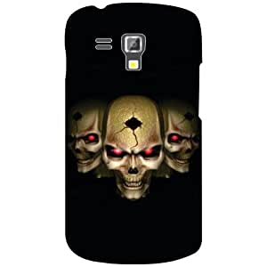 Via flowers Horror Matte Finish Phone Cover For Samsung Galaxy S Duos 7562