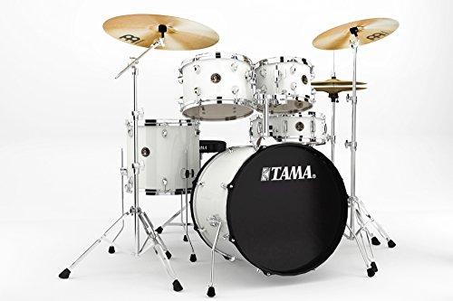 tama-rm50yh6-wh-rhythm-mate-schlagzeug-set-5-teilig-mit-508-cm-20-zoll-bassdrum-inkl-dreiteiligem-be