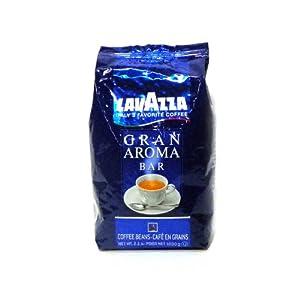 Lavazza Gran Aroma Bar Coffee Beans, 2.2lbs