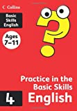 Collins Practice in the Basic Skills - English Book 4