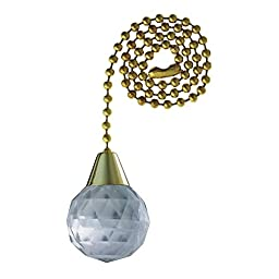 Angelo Brothers 77084  Lucite Sphere Pull Chain