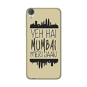 Abhivyakti Cities Yeh Hai Mumbai Hard Back Case Cover For HTC Desire 820S
