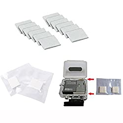 Konsait 12 Anti-Fog Inserts compatible with all GoPro cameras Reusable Moisture Removing Housing Systems for GoPro HD Hero 4 3+ 3 2 1