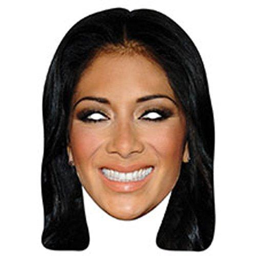 Official Nicole Scherzinger Cardboard Party Mask