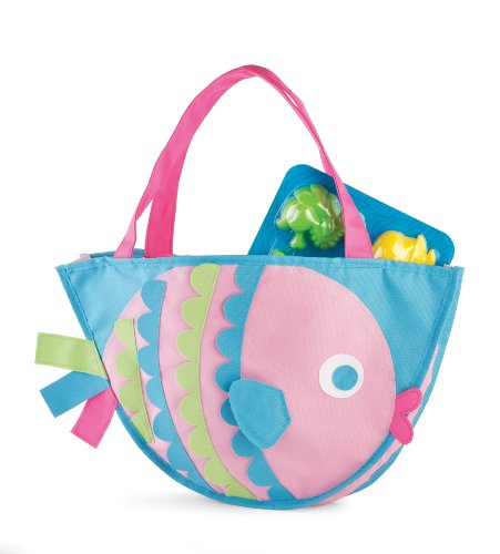 Surf's Up Beach Bag with Toys, Fish (Discontinued by Manufacturer)