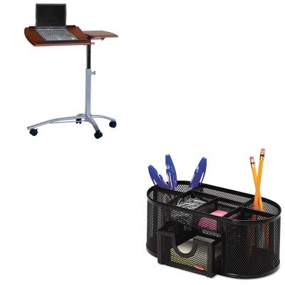 KITMLN950MECROL1746466 - Value Kit - Mayline Eastwinds Laptop Computer Caddy (MLN950MEC) and Rolodex Mesh Pencil Cup Organizer (ROL1746466) kitrlp74002unv55400 value kit roselle paper co premium sulphite construction paper rlp74002 and universal economy woodcase pencil unv55400