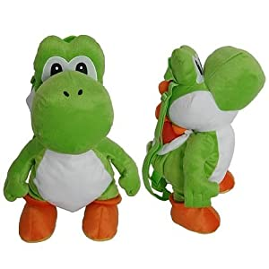 Nintendo Super Mario Bros. Yoshi Plush Doll Backpack from Accessory Innovations