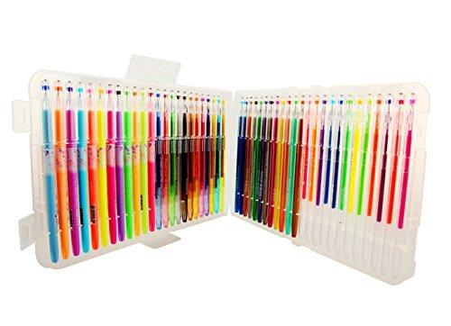 Gel Pens 48 Color Premium Professional Gel Color Pens