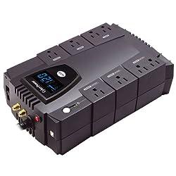 CyberPower CP825AVRLCD Intelligent LCD 825VA 450W with AVR Desktop UPS