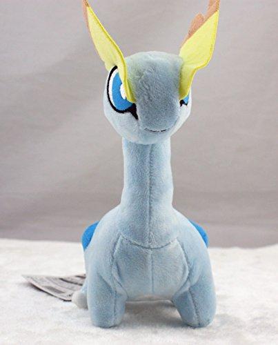 "Pokemon Center Plush Doll Amaura Stuffed Adorable Doll Toy 7"""