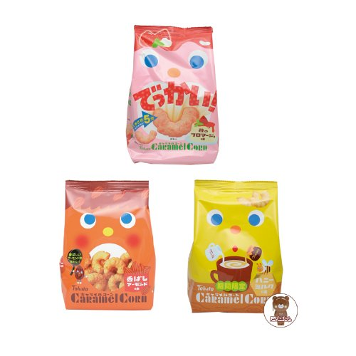 Japan biscuit /Japan Cookies -Tohato Caramel Corn Snack (Christmas Peanut Flavor)