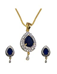 Sheetal Jewellery Brass & Alloy Pendant Set For Women