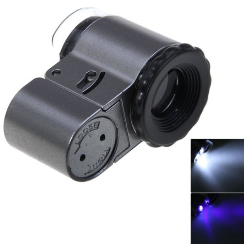 No.9882A 50X Magnifier Currency Detecting With Led Microscope For Jewelry?