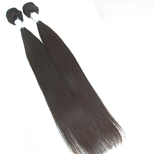 Lanova-Beauty-Womens-Mixed-Length-Silky-Straight-100-Malaysian-Remy-Human-Hair-Weft-Real-Hair-Extensions