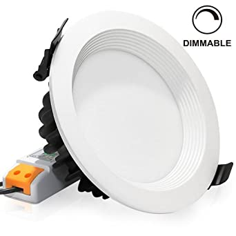 dimmable retrofit led recessed lighting fixture 3000k warm white led. Black Bedroom Furniture Sets. Home Design Ideas