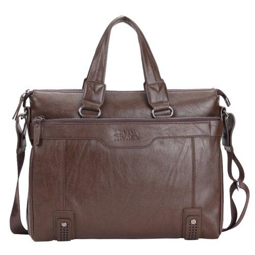Men's Classic High Quality Laptop Bag Business Leisure Messeager Shoulder Bag Handbag Briefcase