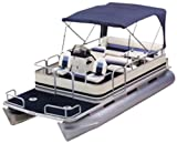 Attwood Corporation 370BV Blue Buggy-Style Acrylic Bimini Top