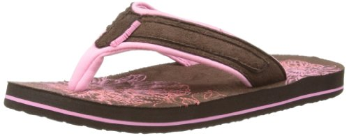 Animal Womens Swish Soft Thong Sandals FM4SE324 Bubblegum 8 UK, 42 EU, Regular