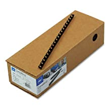 GBC CombBind Binding Spines, 0.375-Inch Spine Diameter, Navy, 55 Sheet Capacity, 100 Spines (4011485)