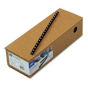 GBC CombBind Binding Spines, 0.375-Inch Spine Diameter, Navy, 55 Sheet Capacity, 100 Spines (4011485)
