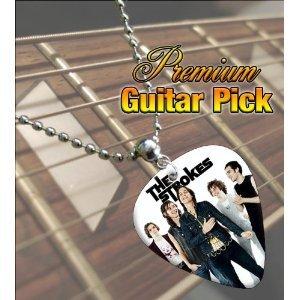 Printed Picks Company The Strokes Premium Guitar Pick Necklace