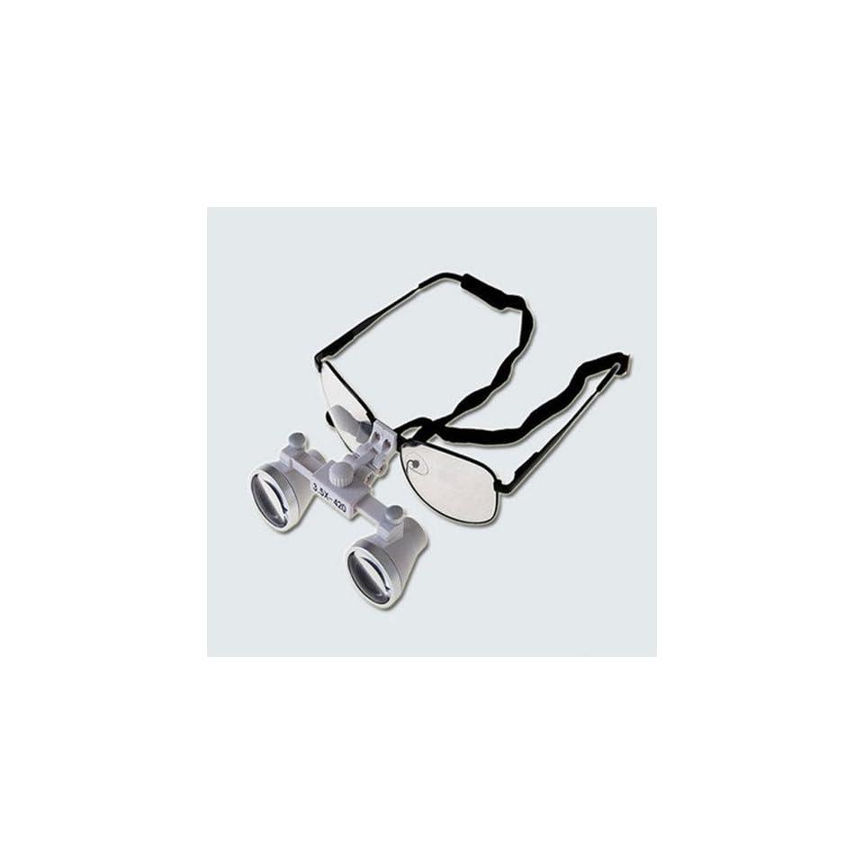 3.5x 420mm Dental Surgical Binocular Loupes LED Head Light USPS 7days Health & Personal Care