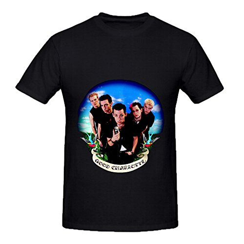 good-charlotte-good-charlotte-rb-album-cover-men-crew-neck-graphic-tee-shirts-black