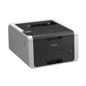 Brother HL-3150CDW Farblaserdrucker (USB 2.0,LAN, WLAN, Duplexdruck) grau/weiß
