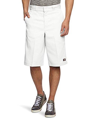 Dickies, Pantaloni corti Uomo, Bianco (Weiß (White WH)), 32