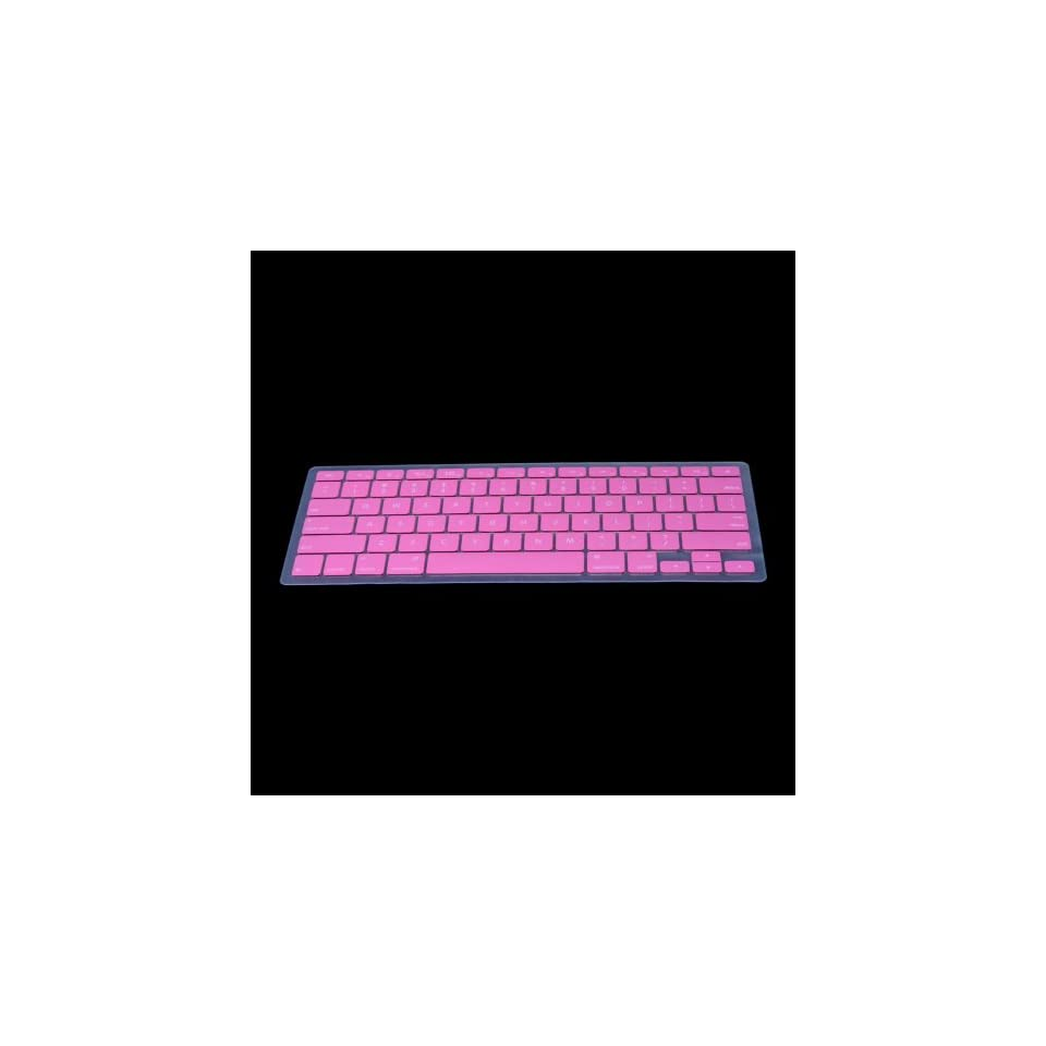 PINK Silicone Keyboard Cover Skin for Macbook Pro 13 15 17 Air 13
