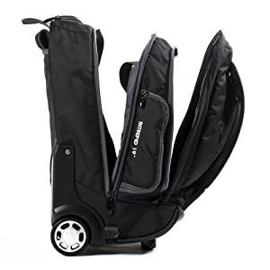 Caribee Intrepid Wheeled Luggage - Black by Caribee