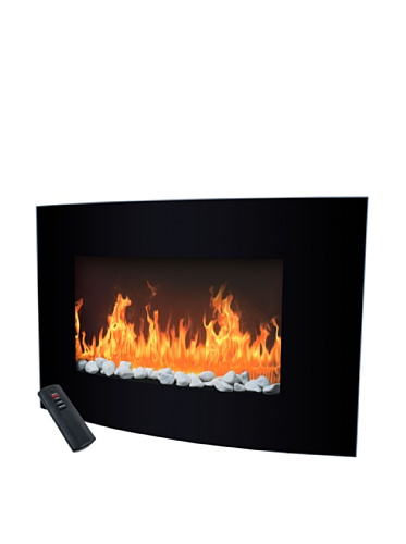 Trademark Global Balmoral Electric Fireplace Heater with Remote image B006MOVD2C.jpg